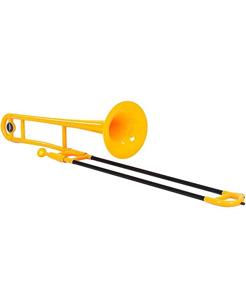 Allora ATB100 Aere Series Plastic Trombone Yellow