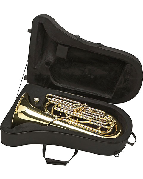 Allora AATU-105P Series 4-Piston Valve 3/4 BBb Tuba In Case