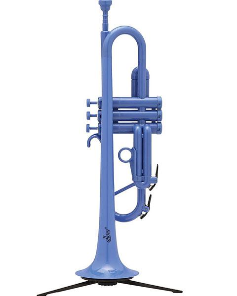Allora ATR1301 Aere Series Plastic Bb Trumpet Blue