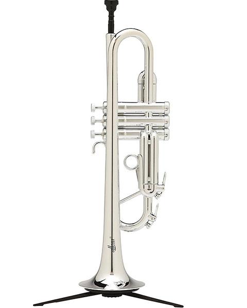 Allora ATR-1301M Aere Metallic Series Plastic Bb Trumpet Silver