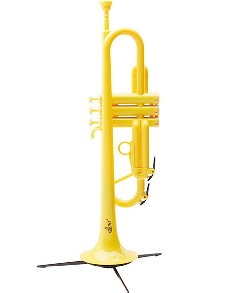 Allora ATR1301 Aere Series Plastic Bb Trumpet Yellow