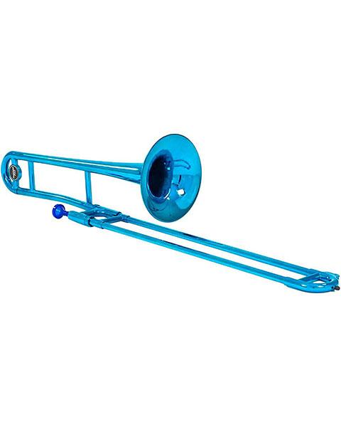 Allora ATB100M Aere Custom Series Plastic Trombone Metallic Blue