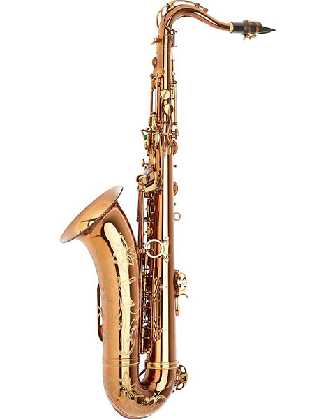 Allora Chicago Jazz Tenor Saxophone AATS-954 - Dark Gold Lacquer Side