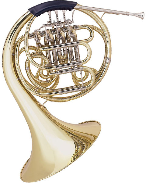 Allora AAHN-229 Geyer Series Double Horn AAHN229 Lacquer Left Side