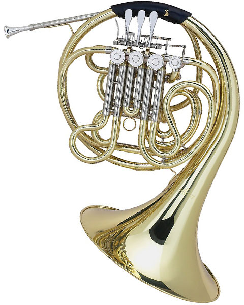 Allora AAHN-229 Geyer Series Double Horn AAHN229 Lacquer right Side