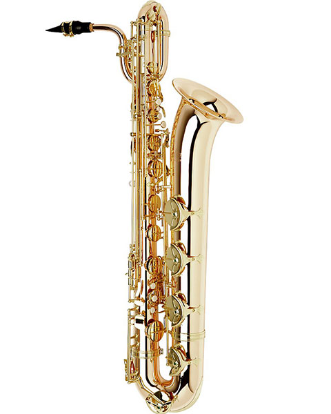 Allora Paris Series Professional Baritone Saxophone AABS-808 Lacquer with Gold Brass Body and Bell