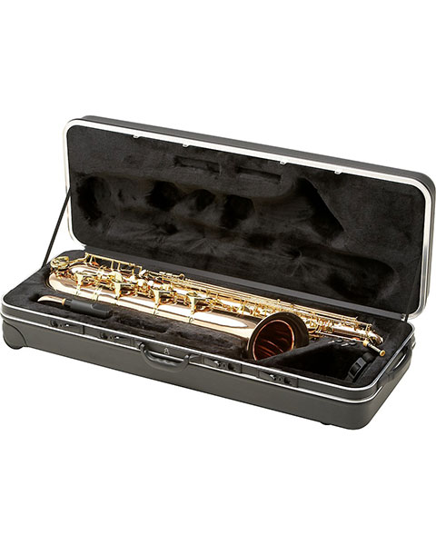 Allora Paris Series Professional Baritone Saxophone AABS-808 Lacquer with Gold Brass Body and Bell Case