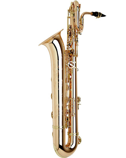Allora Paris Series Professional Baritone Saxophone AABS-808 Lacquer with Gold Brass Body and Bell Side