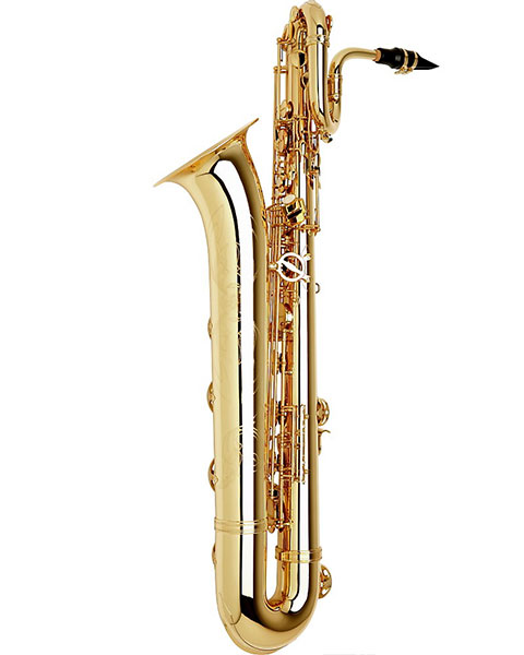 Allora Paris Series Professional Baritone Saxophone AABS-801 - Lacquer Side