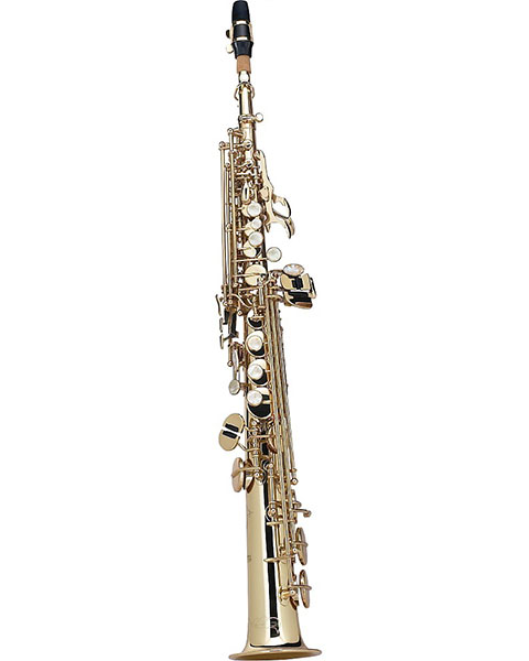 Allora Standard Series Soprano Saxophone AASS-301 Front Angle