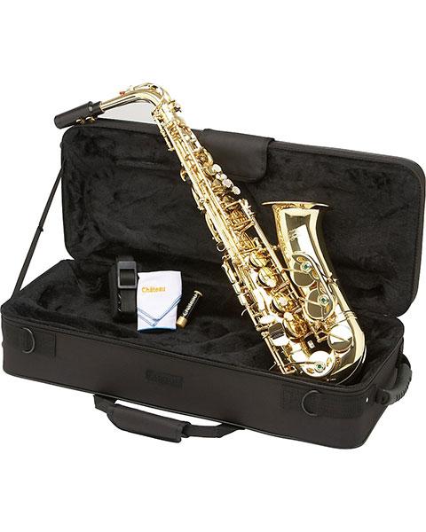 Allora Vienna Series Intermediate Alto Saxophone AAAS-501 - Lacquer Case